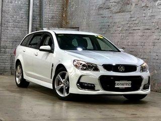 2016 Holden Commodore VF II MY16 SV6 Sportwagon White 6 Speed Sports Automatic Wagon.