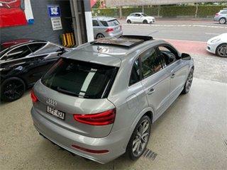 2014 Audi RS Q3 8U TDI Silver Sports Automatic Dual Clutch Wagon