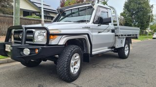 2010 Toyota Landcruiser VDJ79R 09 Upgrade GXL (4x4) Silver 5 Speed Manual Cab Chassis