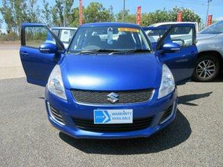 2015 Suzuki Swift FZ MY15 GL Blue 4 Speed Automatic Hatchback.