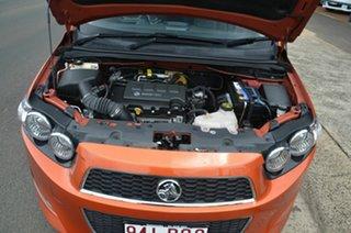 2013 Holden Barina TM MY14 RS Orange 6 Speed Automatic Hatchback