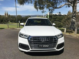 2017 Audi Q5 FY MY17 TFSI S Tronic Quattro Ultra Sport White 7 Speed Sports Automatic Dual Clutch.