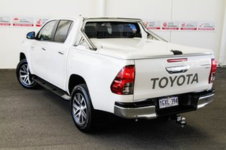 2019 Toyota Hilux GUN126R SR5 Double Cab Crystal Pearl 6 Speed Sports Automatic Utility
