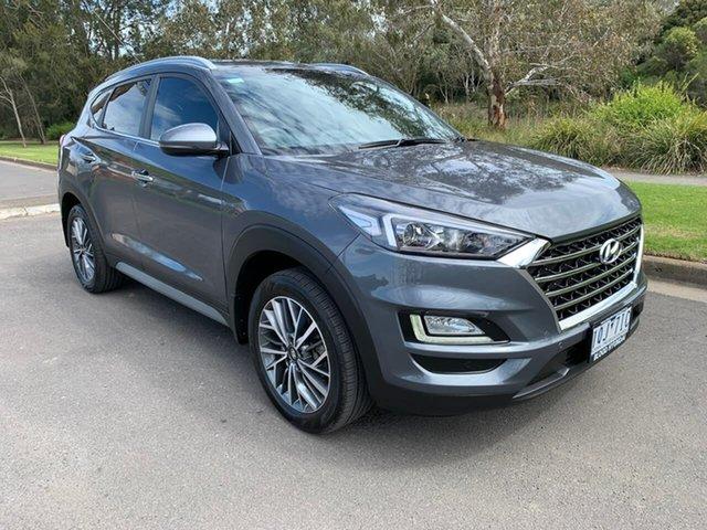 Used Hyundai Tucson Elite Geelong, 2019 Hyundai Tucson TL3 Elite Grey Sports Automatic Dual Clutch Wagon