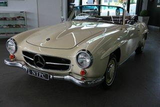 1960 Mercedes-Benz 190SL R121 Cream 4 Speed Manual Roadster