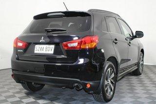 2014 Mitsubishi ASX XB MY15 XLS 2WD Black 6 Speed Constant Variable Wagon.