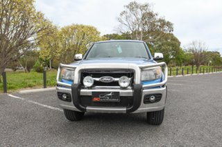 2010 Ford Ranger PK XLT Crew Cab Blue 5 Speed Automatic Utility.