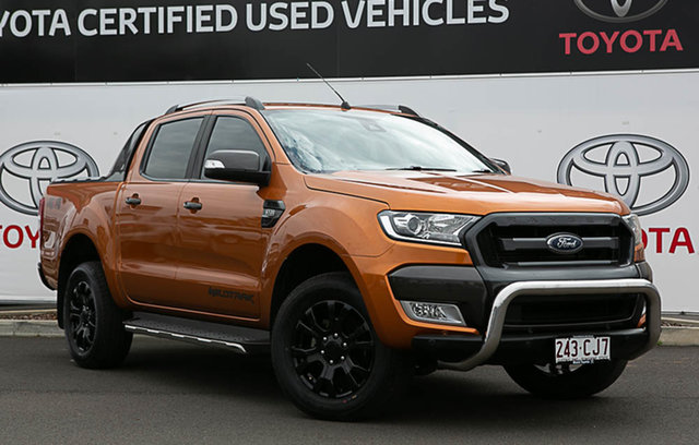 Pre-Owned Ford Ranger PX MkII MY17 Wildtrak 3.2 (4x4) Warwick, 2016 Ford Ranger PX MkII MY17 Wildtrak 3.2 (4x4) Inferno 6 Speed Automatic Dual Cab Pick-up
