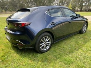 2020 Mazda 3 BP G20 Pure Blue 6 Speed Automatic Hatchback