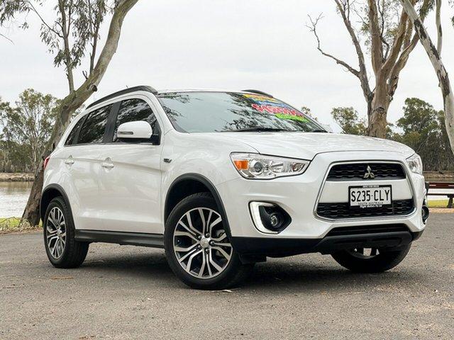 Used Mitsubishi ASX XB MY15.5 LS (2WD) Loxton, 2016 Mitsubishi ASX XB MY15.5 LS (2WD) White Continuous Variable Wagon