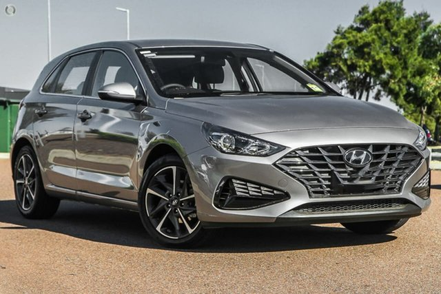New Hyundai i30 PD.V4 MY21 Active Oakleigh, 2021 Hyundai i30 PD.V4 MY21 Active Silver 6 Speed Sports Automatic Hatchback