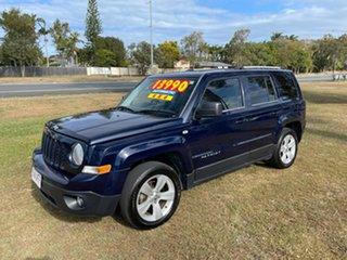 2014 Jeep Patriot MK MY14 Limited Blue 6 Speed Sports Automatic Wagon.