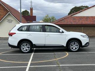 2019 Mitsubishi Outlander ZL MY20 ES AWD White 6 Speed Constant Variable Wagon.