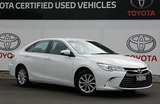 2017 Toyota Camry ASV50R MY16 Altise Diamond White 6 Speed Automatic Sedan.