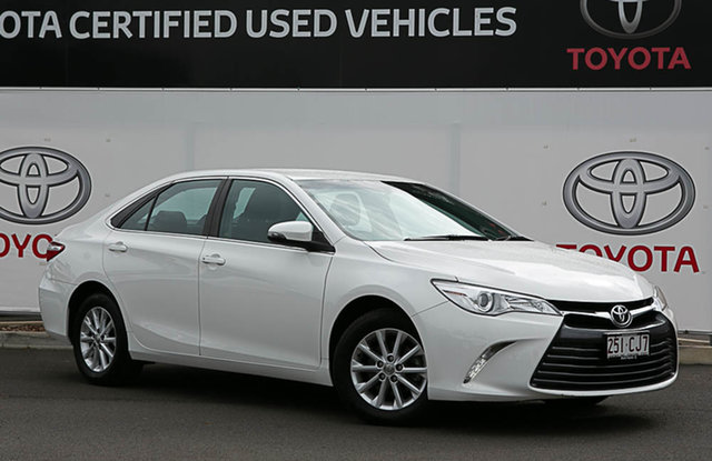 Pre-Owned Toyota Camry ASV50R MY16 Altise Warwick, 2017 Toyota Camry ASV50R MY16 Altise Diamond White 6 Speed Automatic Sedan