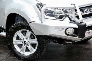 2018 Isuzu D-MAX MY17 LS-Terrain Crew Cab Silver 6 Speed Sports Automatic Utility.