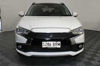 2017 Mitsubishi ASX XC MY17 XLS 2WD White Solid 6 Speed Constant Variable Wagon.