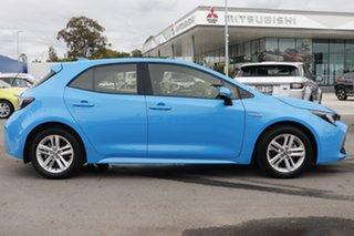 2019 Toyota Corolla ZWE211R Ascent Sport E-CVT Hybrid Blue 10 Speed Constant Variable Hatchback.