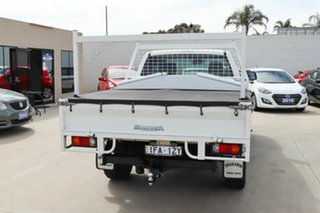 2015 Mazda BT-50 UR0YF1 XT Freestyle White 6 Speed Sports Automatic Cab Chassis