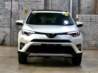 2018 Toyota RAV4 ASA44R Cruiser AWD White 6 Speed Sports Automatic Wagon.