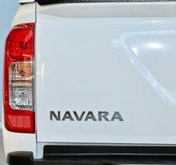 2018 Nissan Navara D23 S3 RX 4x2 White 7 Speed Sports Automatic Utility
