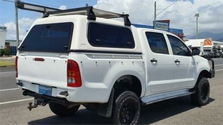 2007 Toyota Hilux GGN25R MY07 SR White 5 Speed Manual Utility
