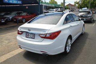 2011 Hyundai i45 YF MY11 Premium White 6 Speed Automatic Sedan.