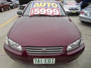 1998 Toyota Camry SXV20R CSi Maroon 4 Speed Automatic Sedan.