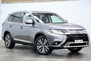 2018 Mitsubishi Outlander ZL MY18.5 LS 2WD Grey 6 Speed Constant Variable Wagon.