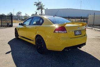 2011 Holden Commodore VE II MY12 SV6 Yellow 6 Speed Sports Automatic Sedan