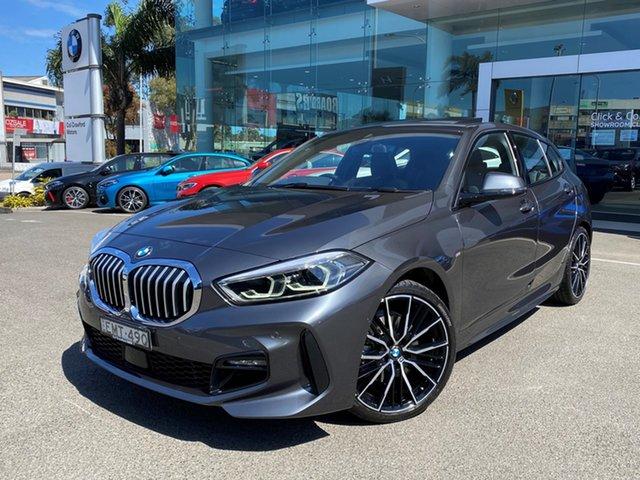 Used BMW 118i F40 M Sport Brookvale, 2020 BMW 118i F40 M Sport Mineral Grey 7 Speed Auto Dual Clutch Hatchback