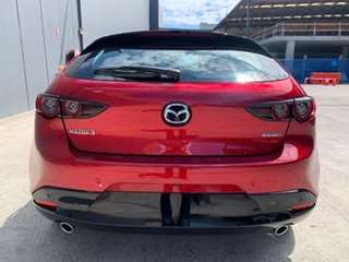 2021 Mazda 3 BP2H7A G20 SKYACTIV-Drive Touring Soul Red Crystal 6 Speed Sports Automatic Hatchback