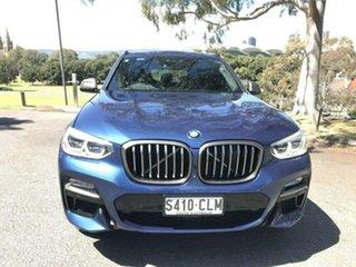 2018 BMW X3 G01 M40i Steptronic Blue 8 Speed Automatic Wagon.