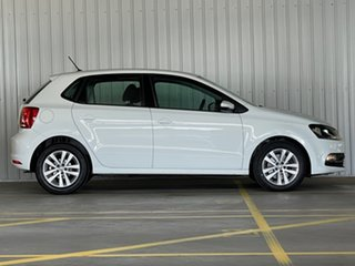 2017 Volkswagen Polo 6R MY17 81TSI DSG Comfortline White 7 Speed Sports Automatic Dual Clutch.
