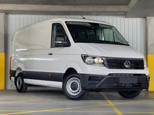 New Volkswagen Crafter SY1 MY21 35 MWB FWD TDI340 Moorabbin, 2021 Volkswagen Crafter SY1 MY21 35 MWB FWD TDI340 White 8 Speed Automatic Van