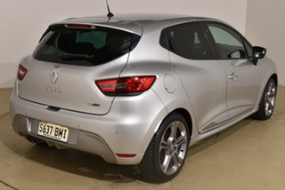 2015 Renault Clio IV B98 GT EDC Silver 6 Speed Sports Automatic Dual Clutch Hatchback