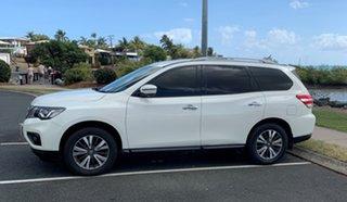 2017 Nissan Pathfinder R52 Series II MY17 ST Hybrid (2WD) White Automatic Wagon