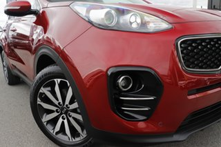 2016 Kia Sportage QL MY17 SLi AWD Fiery Red 6 Speed Sports Automatic Wagon.