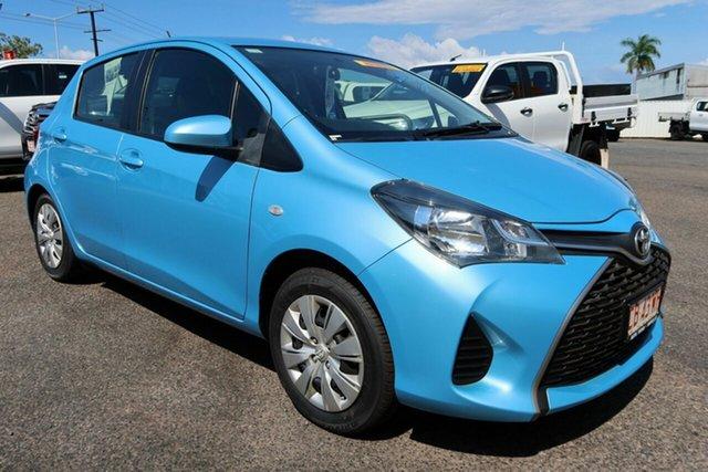 Used Toyota Yaris Winnellie, 2014 Toyota Yaris Blue 5 Speed Automatic Hatchback