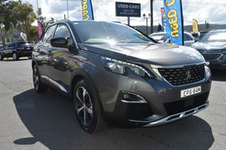 2018 Peugeot 3008 P84 MY18 GT Line SUV Grey 6 Speed Sports Automatic Hatchback.