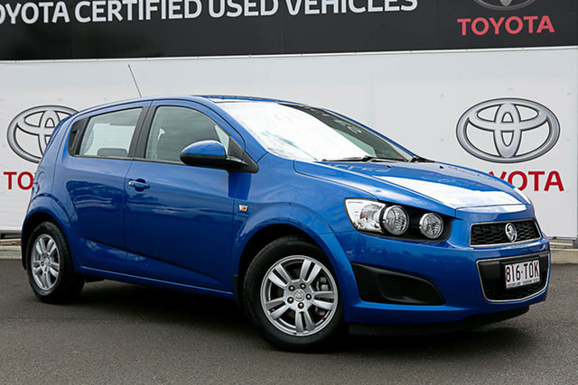 Pre-Owned Holden Barina TM MY14 CD Warwick, 2013 Holden Barina TM MY14 CD 6 Speed Automatic Hatchback