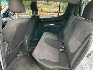 2014 Mitsubishi Triton MN MY15 GLX-R Double Cab Silver 5 Speed Sports Automatic Utility