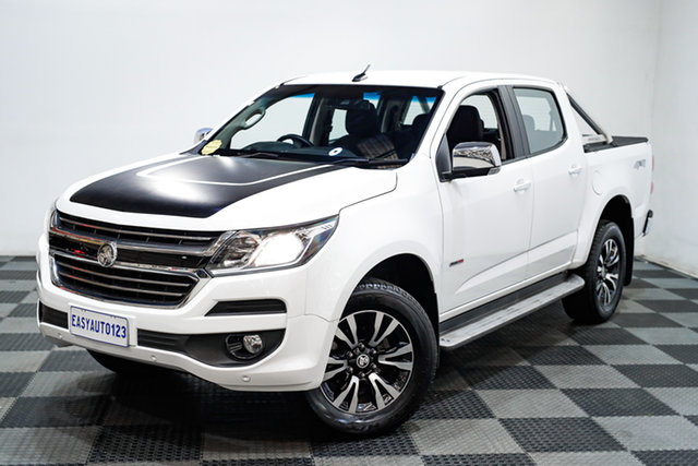 Used Holden Colorado RG MY18 LTZ Pickup Crew Cab Edgewater, 2018 Holden Colorado RG MY18 LTZ Pickup Crew Cab White 6 Speed Sports Automatic Utility