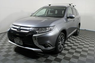2016 Mitsubishi Outlander ZK MY16 LS 2WD 6 Speed Constant Variable Wagon