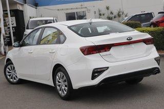 2020 Kia Cerato BD MY21 SI Clear White 6 Speed Sports Automatic Sedan.