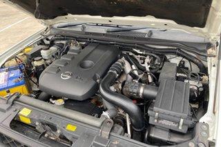 2007 Nissan Navara D40 RX (4x4) White 6 Speed Manual Dual Cab Pick-up