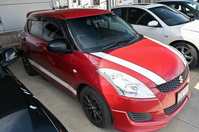 Used Suzuki Swift FZ GA Pakenham, 2011 Suzuki Swift FZ GA Red 5 Speed Manual Hatchback
