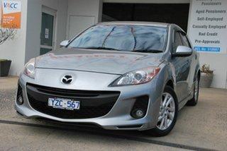 2011 Mazda 3 BL 10 Upgrade Maxx Sport Silver 5 Speed Automatic Hatchback.