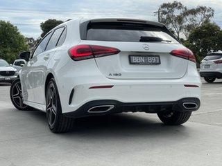 2019 Mercedes-Benz A-Class W177 A180 DCT Polar White - Standard Finish 7 Speed.