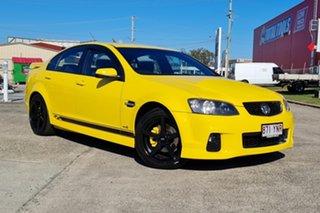 2011 Holden Commodore VE II MY12 SV6 Yellow 6 Speed Sports Automatic Sedan.